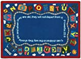 Faith Based Bible Train Kids Rug Rug Size: 7'8'' x 10'9''