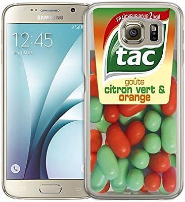 Carcasa Samsung Galaxy: Tic Tac naranja, compatible con ...