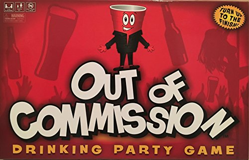 Out of Commission Drinking Party Game