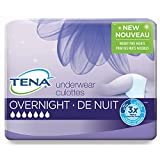 Tena Incontinence Underwear for Women, for Overnight, Large, 11 Count