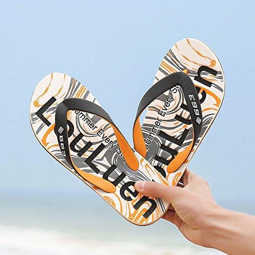 Zapatillas Sandalias Antideslizantes De Hombre Zapatillas Con Apoyo Ligero Amarillo De De TOCCOT Forma Peso En Playa De Sandalias De Arco Para Verano wIxHn4qtz