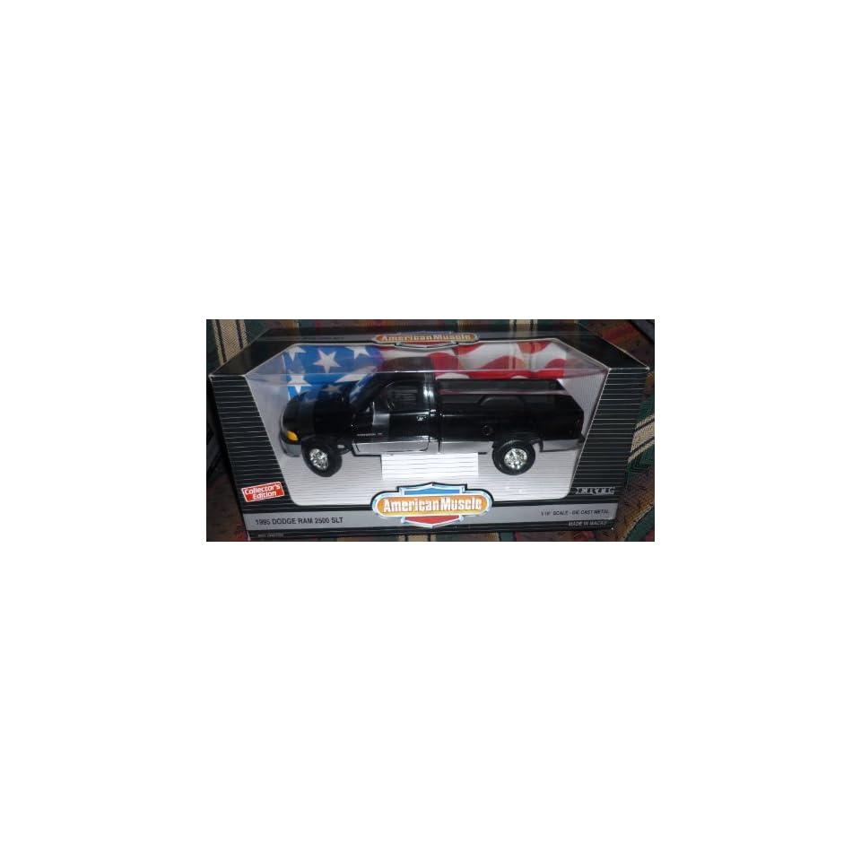 #7334 Ertl American Muscle 1995 Dodge Ram 2500 SLT 1/18 Scale Diecast