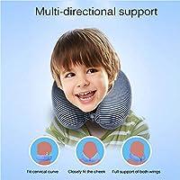 Amazon.com: HYM - Almohada cervical para niños, para viajes ...
