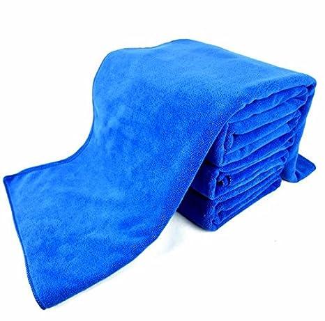 JISHUQICHEFUWU Car Wash Wipe Alquiler de Toalla Fina de automoción de Refuerzo de Fibras absorbentes Car Wash Wipe servilletas de Tela,30 * 70cm ...