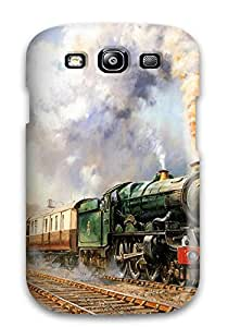 First-class Case Cover For Galaxy S3 Dual Protection Cover Train