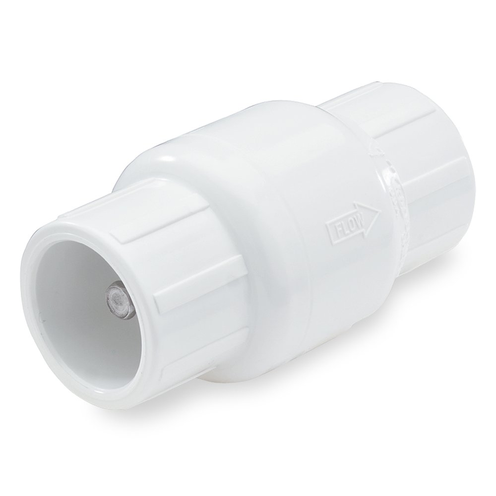 NDS 1011-20 2 PVC S by S 7 Length Spring Check Valve NDS Raindrip