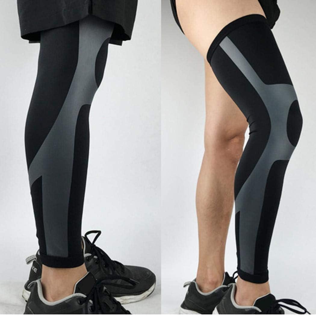 salver 1Pc Sports Knee Brace Running Jogging Breathable Elastic Compression Knee Brace Knee Pads