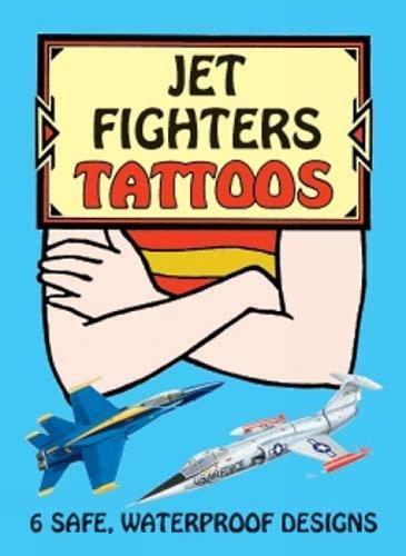 Jet Fighters Tattoos (Dover Tattoos) PDF