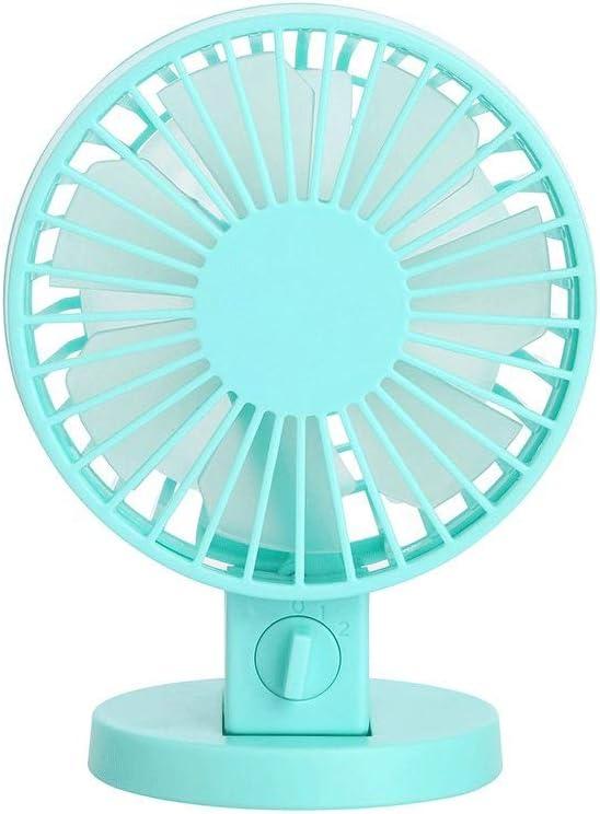 BZFjy Fan Adjustable 2 Speed USB Powered Desktop Fan Ultra Quiet Cooler High Air Volume Student Fan Office Color : Black
