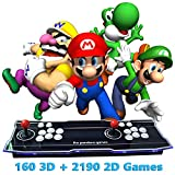 XFUNY Home Arcade Video Game Console 2350 in 1 Pandora Treasure 3D 1080P Arcade Machine with Arcade Joysticks for TV / Laptop / PC / PS4