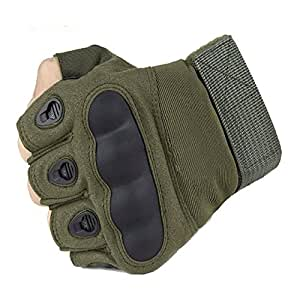 Amazon.com: Tactical Gloves Military Rubber Outdoor