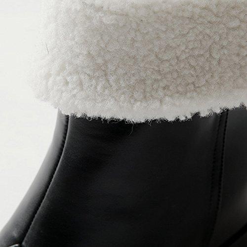Sconosciuto 1TO9Mns02058 - Stivali da Neve Donna, Nero (Black), 35 EU