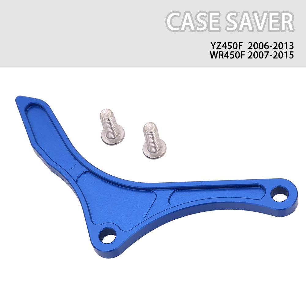Engine Case Saver Case Protection CNC Billet Aluminum Chain Guard Sprocket For Yamaha YZ250F WR250F 2001-2013 Blue