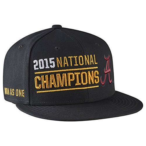 Nike College Football Playoff 2015 National Champions Adjustable Players Locker Room Performance Snapback Hat (Nike College Hats)