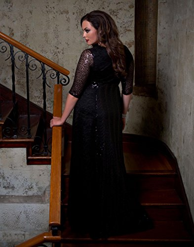 Kiyonna Women's Plus Size Grand Gatsby Gown