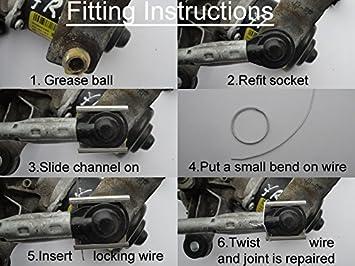 Motor para limpiaparabrisas reparación de la canal atm-ch: Amazon.es: Bricolaje y herramientas