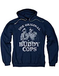 Andy Griffith Icon Deputy Barney&Sheriff Andy Buddy Cops Adult Pull-Over Hoodie