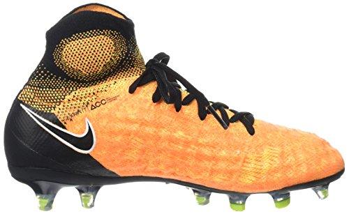 Nike Jr Magista Obra II FG, Botas de Fútbol Unisex Niños Naranja (Laser Orange/Black/White/Volt)