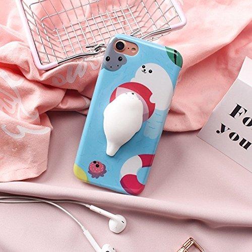 GHC Cases & Covers, Für iPhone 6 u. 6s, Spiel-Kugel-Siegel-Squishy schützender rückseitiger Abdeckungs-Fall