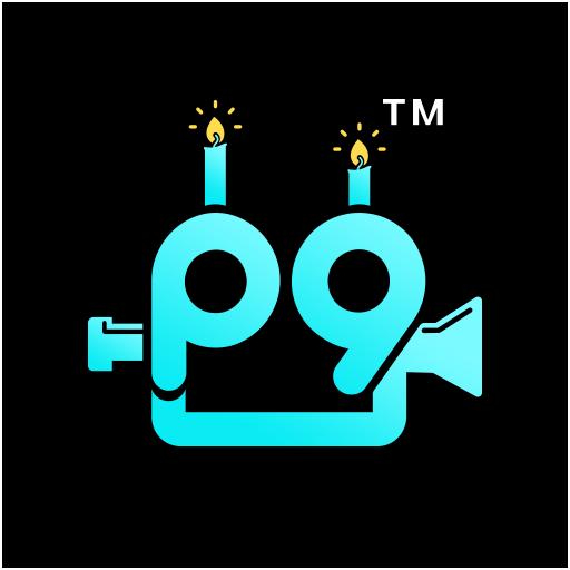 P9videos : Love, Festival & Birthday Video Maker