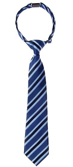 Retreez Jungen Gewebte einfarbig vorgebundene Krawatte