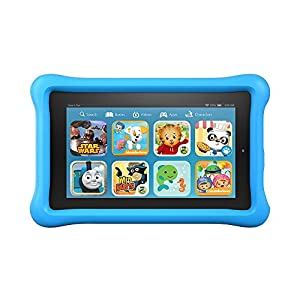 "Fire Kids Edition Tablet, 7"" Display, 16 GB, Blue Kid-Proof Case (Previous Generation - 5th)"