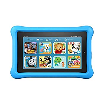 """Fire Kids Edition Tablet, 7"""" Display, 16 Gb, Blue Kid-proof Case (Previous Generation - 5th) 0"""