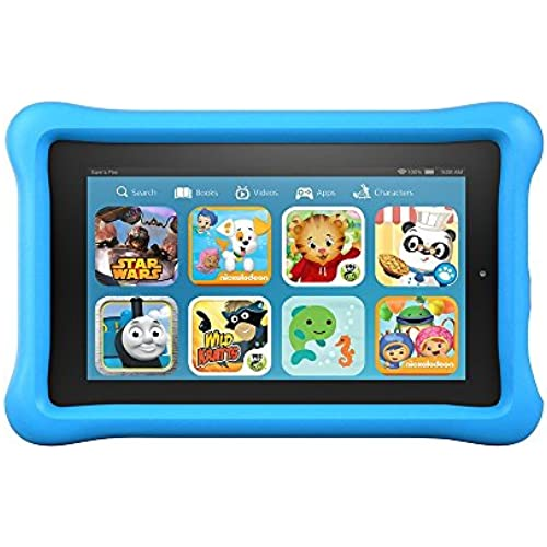 Fire Kids Edition Tablet, 7 Display, Wi-Fi, 16 GB, Blue Kid-Proof Case Coupons