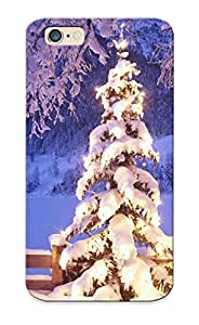Quality Standinmyside Case Cover With Winter Snow Christmas Trees Nice Appearance Compatible With Iphone 6()