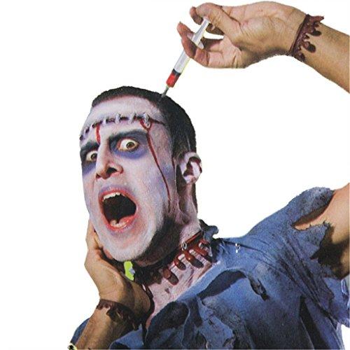 HMILYDYK 2017 Scary Bloody Needle Headband For Men Women Headwear Tricky Toys Halloween Dress Costume Party Funny (The Office Us Halloween Costumes)