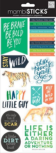 - me & my BIG ideas Stay Wild Sticker