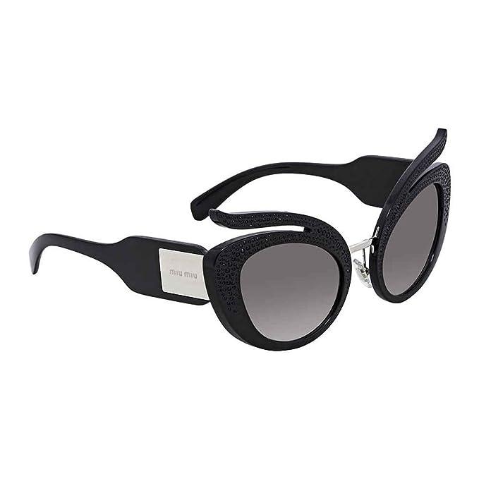 Miu Miu 0MU04TS VW35O0 53 Gafas de Sol, Negro (Black/Grey ...