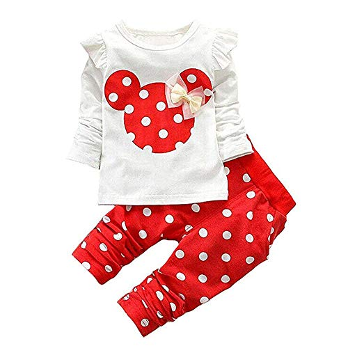 Long Sleeve T-Shirt and Pants Kids 2pcs Outfit