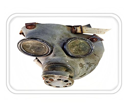 Beshowere Doormat old gas mask isolated on white (Diy Gas Mask)