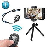 XCSOURCE 3in1 Bluetooth Smartphone Camera Photo Selfie Kit, Mini Tripod + Bluetooth Remote Shutter + Phone Holder for iPhone 7/6S/6, Samsung Galaxy LF780
