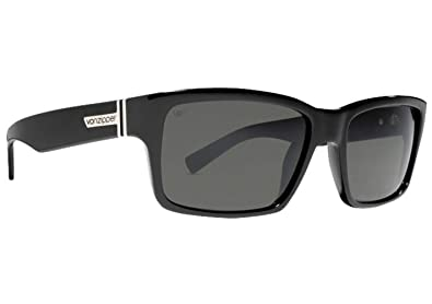 cdafbf0d6d Image Unavailable. Image not available for. Color  VonZipper Fulton  Sunglasses - One size fits most Polarized Black Gloss