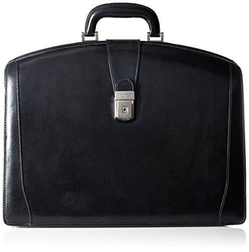 Bosca Old Leather Collection Leather Partners Briefcase - Black Bosca Business Card Box