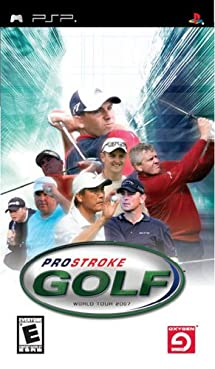 Pro Stroke Golf: World Tour 2007 - Sony PSP