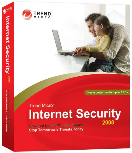 Trend Micro Internet Security 2008 3-User [OLD VERSION]