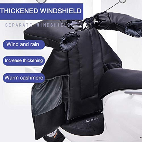 iBelly Leg Lap Apron Cover,for Scooter in Winter Thickened Warm Keeping Down Cotton Waterproof Leg Cover Shield