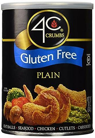 4C Crumbs-Plain, Gluten Free, 12 Ounce (Pinky Marie)
