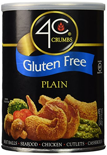4C Crumbs-Plain, Gluten Free, 12 Ounce