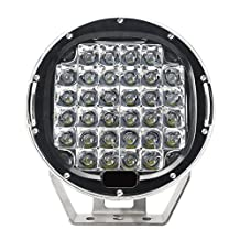 Green-L 96W Spot CREE 8640 Lumens DC 10-30v Spot Beam Waterproof LED Light Bar for Trucks, 4x4 Offroad Vehicles 2 Years Warranty