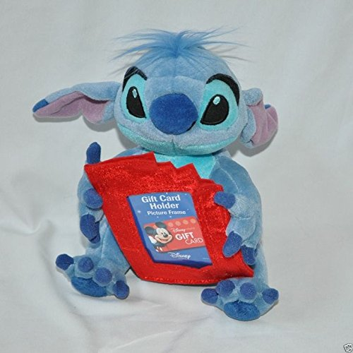 Plush Gift Card Holder or Picture Frame- Lilo and Stich Graduation Disney Stitch
