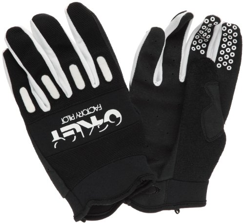 Oakley Men's Factory Bike Glove (Black, - Mountain Oakley Bike