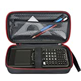 HESPLUS Hard Case with Mesh Pocket for Texas Instruments TI-Nspire CX / CAS Graphing Calculator