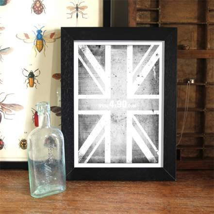 Four X Ninety 010 Black Picture/Photo Frame (A2 (16.5 x 23.5 ...