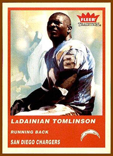 2004 Fleer Tradition #71 LaDainian Tomlinson HOF SAN DIEGO CHARGERS TCU HORNED FROGS