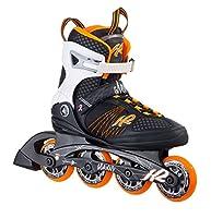K2 Damen Inline Skate Alexis 80, Orange/Weiß/Schwarz,GR.EU 37, 30A0104.1.1.070