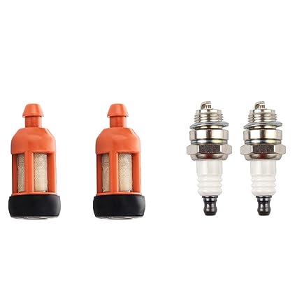 Amazon.com: Dalom - Juego de 2 filtros de combustible con ...